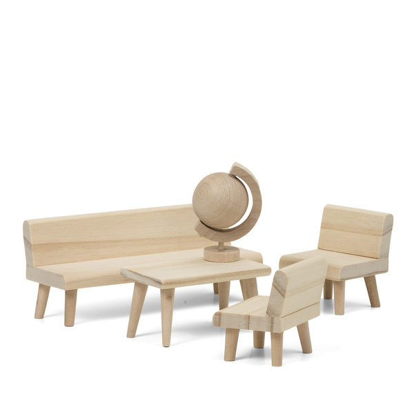 Lundby Do-it-yourself/Bastel Wohnzimmer-Set, 5-teilig