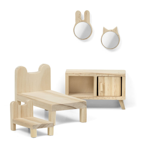 Lundby Do-it-yourself/Bastel Schlafzimmer-Set
